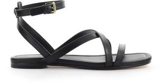 Michael Kors Black Tasha Flat Sandal
