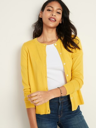 Old Navy Crew-Neck Cardigan for Women