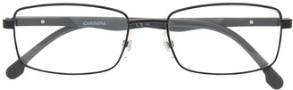 Carrera Rimmed Rectangle Frame Glasses
