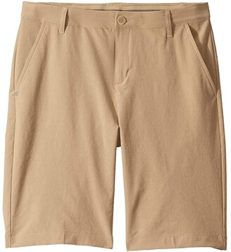 adidas Golf Kids Golf Shorts (Little Kids/Big Kids) (Raw Gold) Boy's Shorts