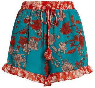 MISA Inca Paisley Print Shorts