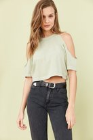 Truly Madly Deeply Courtney Cold-Shoulder Tee