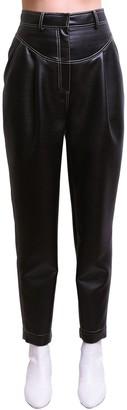 Philosophy di Lorenzo Serafini Cropped Faux Leather Pants