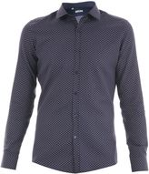 Ungaro Slim Fit Cotton Jacquard Shirt