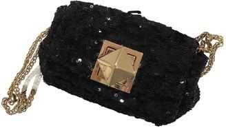 Sonia Rykiel Black Glitter Clutch bags