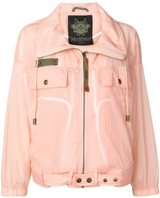 Mr & Mrs Italy Waterproof Zipped Jacket