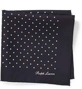 Ralph Lauren Silk Foulard Pocket Square