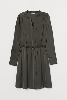 H&M Belted Dress - Green
