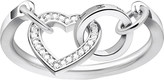 Thomas Sabo Together Forever heart sterling silver and zirconia ring