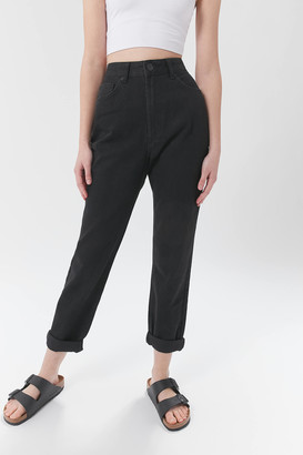 BDG High-Waisted Mom Jean Black Denim