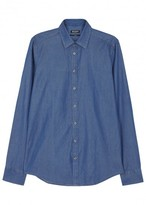 Tiger Of Sweden Steel Blue Chambray Shirt