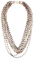 Candela 9-Strand Tourmaline Necklace