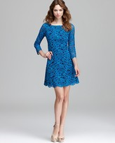 Shoshanna Contrast Lace Dress - Miranda