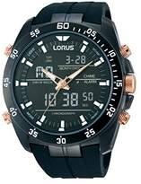 Lorus Men's Quartz Watch Sport RW615AX9 with Rubber Strap