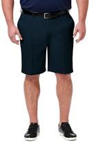 Haggar Big & Tall Cool 18 PRO Classic-Fit Flat-Front Shorts