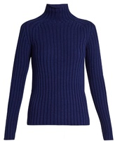 Vanessa Bruno Franja roll-neck ribbed-knit sweater