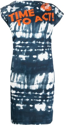 Vivienne Westwood Tie-Dye Print Sleeveless Dress