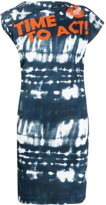 Vivienne Westwood tie-dye print sleeveless dress