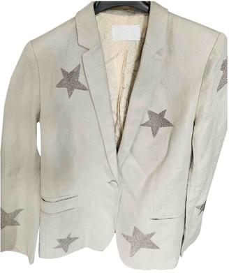 Zadig & Voltaire Grey Linen Jacket for Women