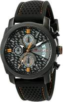 Oceanaut Men's OC2323 Kryptonite Analog Display Quartz Black Watch
