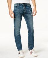 Tommy Hilfiger Men's Slim-Fit Medium Blue Wash Jeans