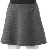 Candies Juniors' Candie's® Chevron Quilted Skirt