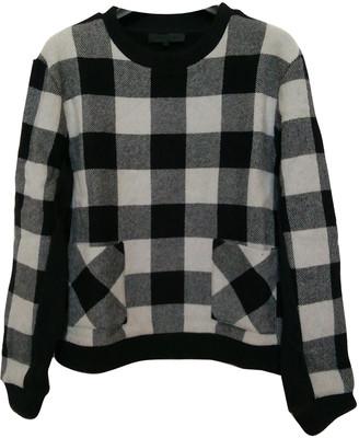 American Retro Black Wool Knitwear