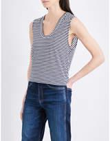 Rag & Bone Valley striped linen-blend top