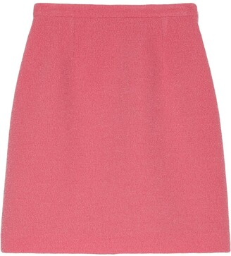 Gucci A-Line Mini Skirt