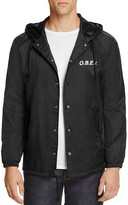 Obey Hooded Coach Jacket