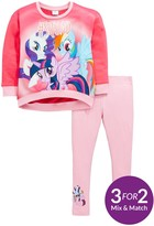 My Little Pony Girls Sweat And Legging Outfit