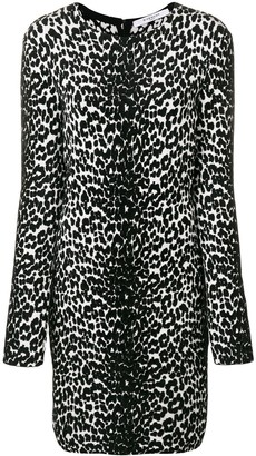 Givenchy Animal Print Longsleeved Dress