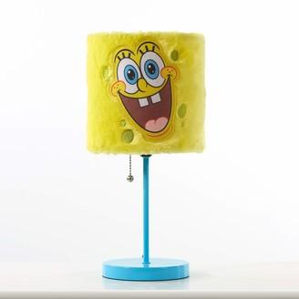 Idea Nuova Spongebob Squarepants Plush Shade Table Lamp