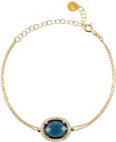 Latelita Beatrice Bracelet Gold Sapphire Hydro