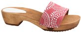 Sanita Coral Wood Dine Leather Sandal - Women
