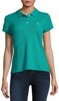 U.S. Polo Assn. Short Sleeve Knit Polo Shirt - Juniors
