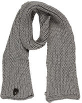 Thomas Wylde Skull-Accented Knit Scarf