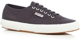 Superga Dark Grey 'cotu' Lace Up Shoes