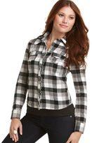 Kool Hearts Shirt, Long Sleeve Buffalo Plaid