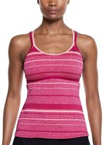 Nike Women's Filtered Striped Crossback Tankini Top