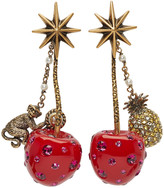 Gucci Red Cherry Earrings