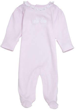 Kissy Kissy Bunny Hop Pique Footie Playsuit, Size Newborn-9 Months