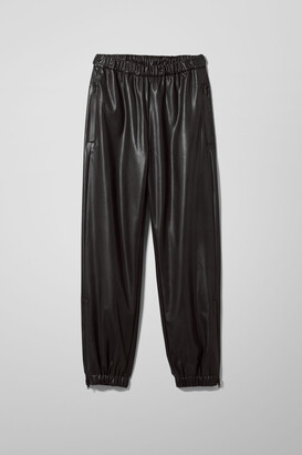 Weekday Deanna Trousers - Black
