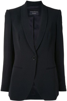 Emporio Armani Shawl Lapel Tailored Blazer