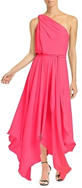 Halston Braided Strap Gown