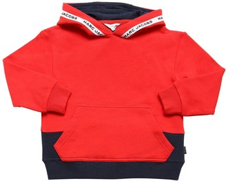 Little Marc Jacobs Cotton Sweatshirt Hoodie