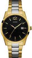 GUESS W0901G4 Perry gold-plated and stainless steel watch
