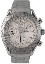 OMEGA Omega Preowned Speedmaster Triple Calendar Silver Dial Ref: 3221.3 Mens Watch