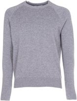 Ami Alexandre Mattiussi Ami Ribbed Sleeve Sweater