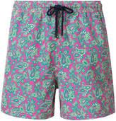 Etro Bañador paisley print swim shorts